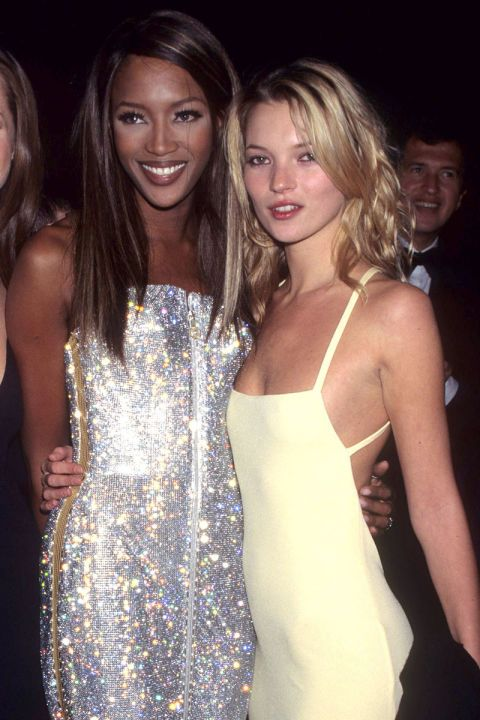 16 throwback photos of Naomi Campbell and Kate Moss' supermodel friendship: