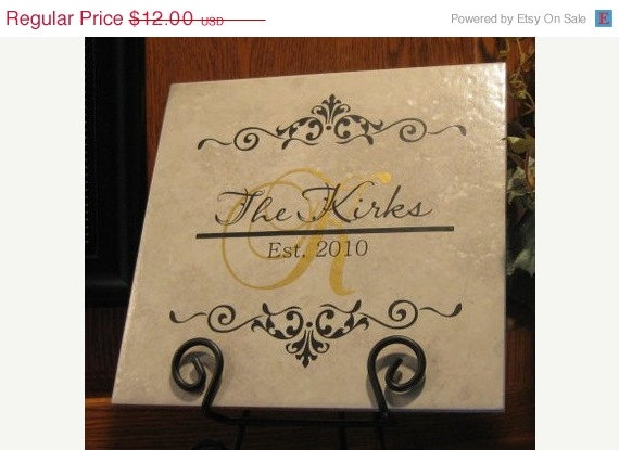 great gift idea buy 1 tile and customize it with our products perfect wedding