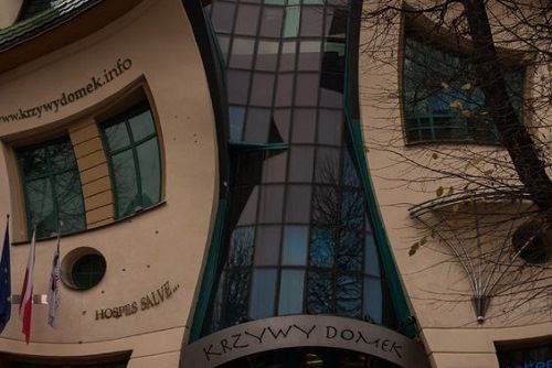 Krzywy Domek The Crooked House  Sopot Poland