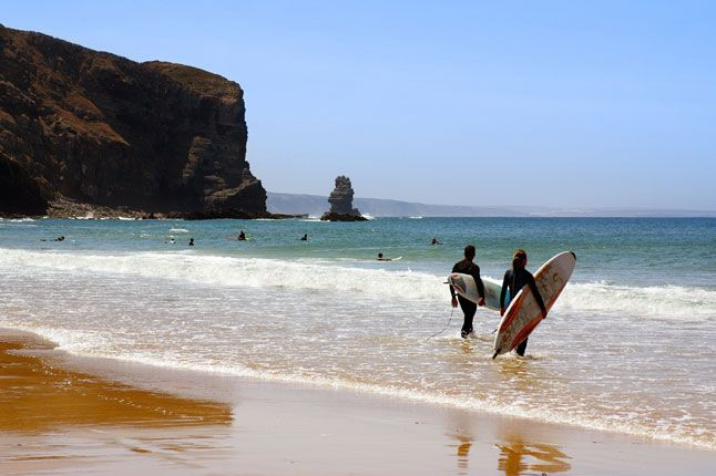 Surf your way to the best body at Arrifana Beach, Portugal