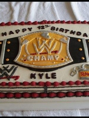 153 best WWE Birthday images on Pinterest Wwe party Wrestling