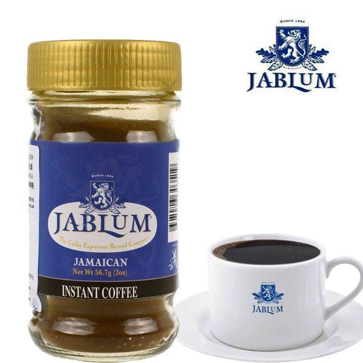 JABLUM 100% Jamaica Blue Mountain Instant Coffee, Expire 2018 - (FAST SHIPPING) #Jablum