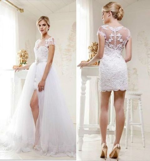 Convertible Wedding Gown Detachable Skirt: Best 25+ Convertible Wedding Dresses Ideas On Pinterest