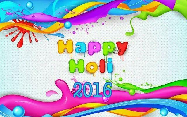 Happy Holi 2016