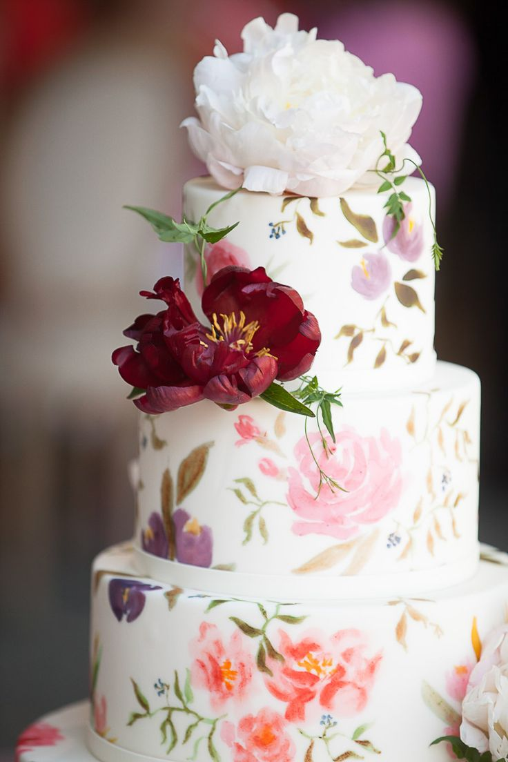 Photography : Arrowood Photography | Event Planning : A Savvy Event | Cake : Sweet on Cake | Floral Design : Kathleen Deery Design  | Wedding Venue : Beaulieu Garden Read More on SMP: http://www.stylemepretty.com/2017/01/10/one-bride-four-gowns/