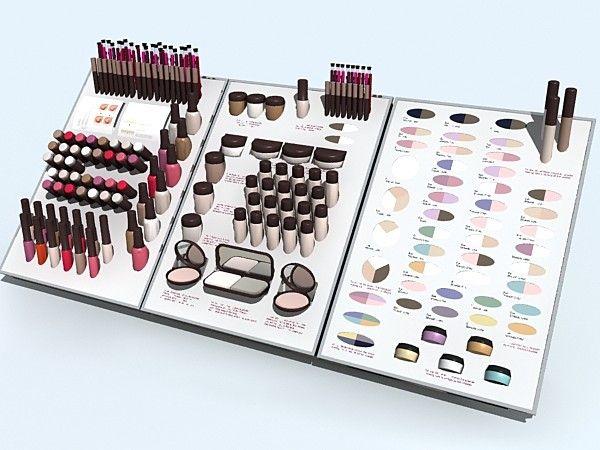 cosmetics tester displays - Google Search