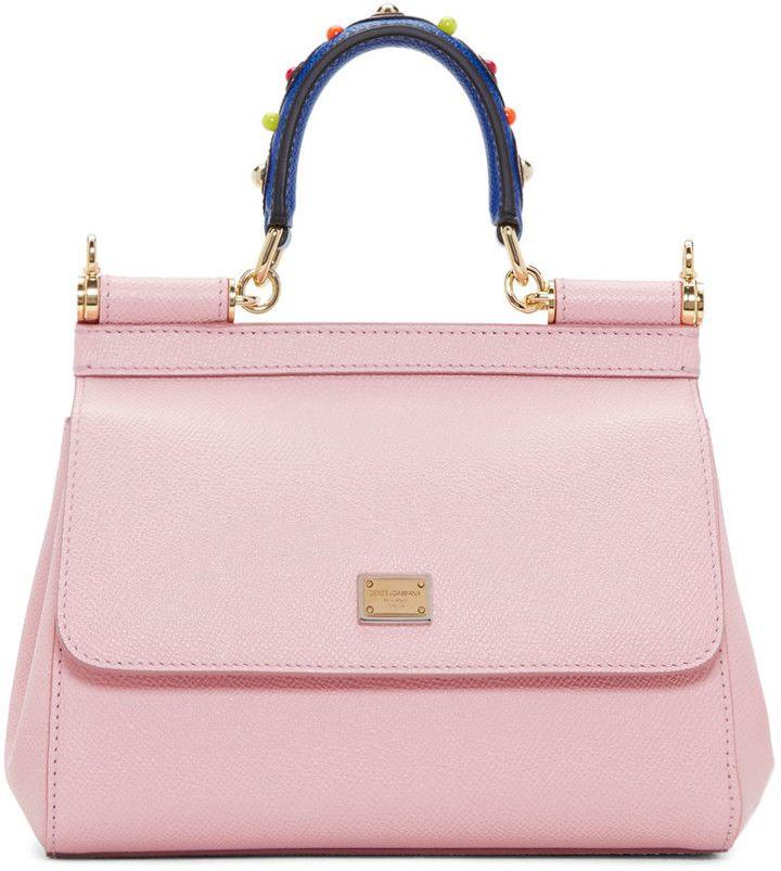 Dolce and Gabbana Pink Mini Miss Sicily Bag