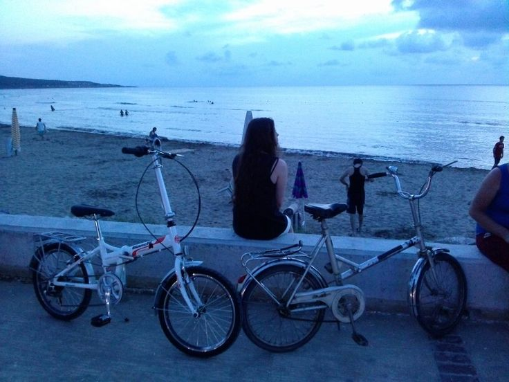 bike and sea ,girl cebeci kefken kocaeli birermanden
