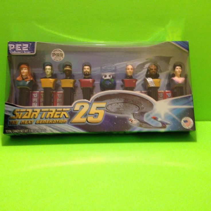 Star Trek the Next Generation Pez Dispenser 25th anniversary Collector Set. Limited Edition/numbered. Great item for Star Trek Fans! Manufactured in 2012. | eBay!