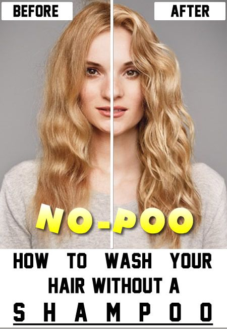 No-poo method which involves washing the hair without shampoo is healthier,cheaper and faster hair growth.Here's how it's done! No-poo method is a way you wash your hair without using shampoo.There are many variations,but the most popular is the one that uses baking soda and vinegar.