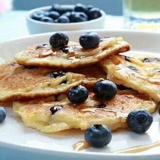Desayuno súper saludable.