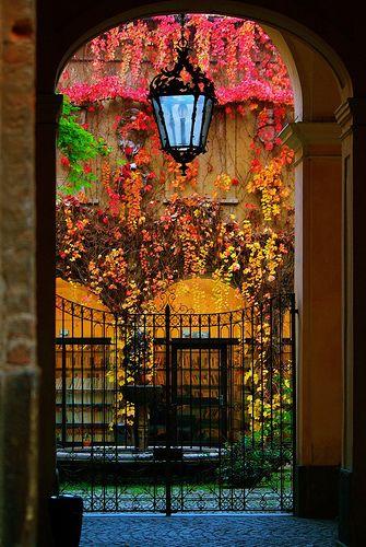 I've always loved images of doors, windows, and passageways.
