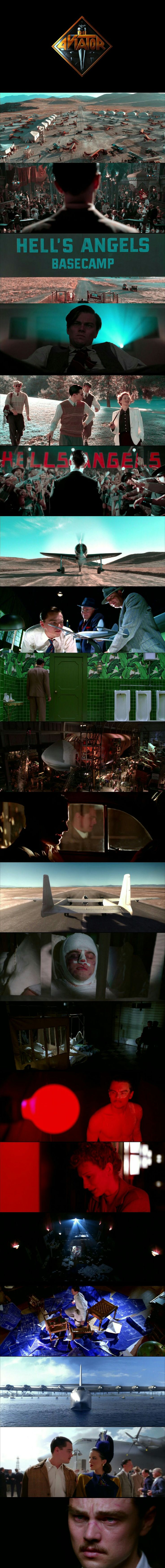 The Aviator(2004) Directed by Martin Scorsese. Cinematography by Robert Richardson.