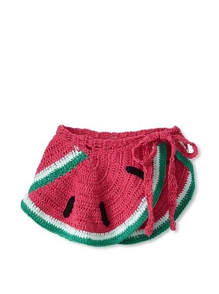 Crochet wrap skirt by Anna Kosturova