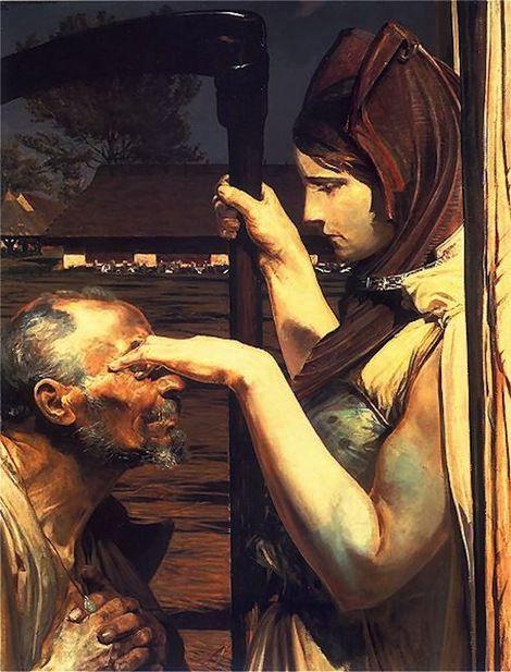 Jacek Malczewski, Śmierć (The Death), 1902 on ArtStack #jacek-malczewski #art