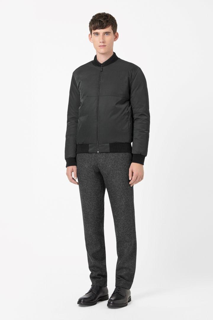 COS   Zip-up down jacket
