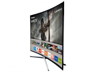 """Smart TV LED Curva 40"""" Samsung Full HD UN40K6500 - Conversor Digital 3 HDMI 2 USB Wi-Fi com as melhores condições você encontra no Magazine 233435antonio. Confira!"""