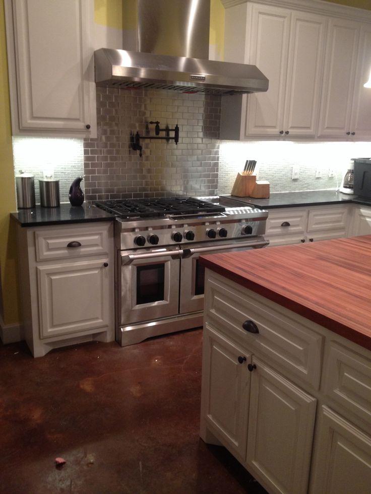 Superior Kitchen Aid 48 Inch Range In My Kitchen!