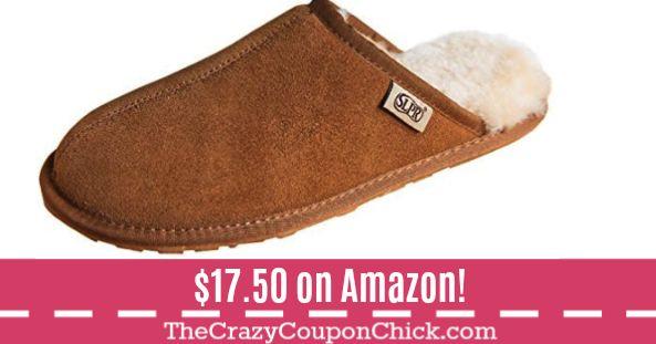 **HOT** Men's Sheepskin Slippers Starting at ONLY $17.50 (Originally $35) on Amazon!