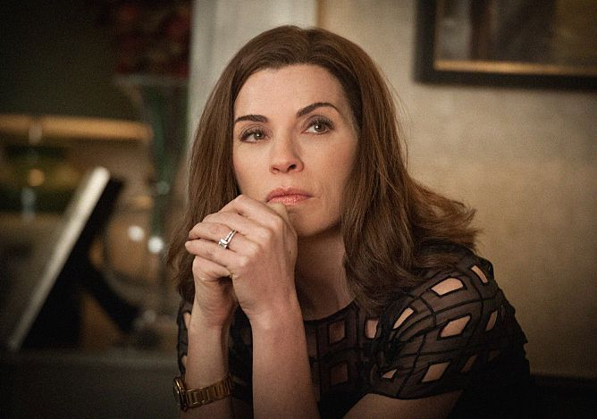 Like an exquisite meal sitting on a wobbly restaurant table, this week's installment of The Good Wife had its delicious moments —marred by the intermittent/aggravating vibe that somebody at the top of the food chain really ought to be paying a little more attention to detail. I mean, do we honestly believe Chicago drug kingpin