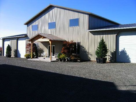 Residential pole barns designs oregon pole barns and all Residential pole barn homes