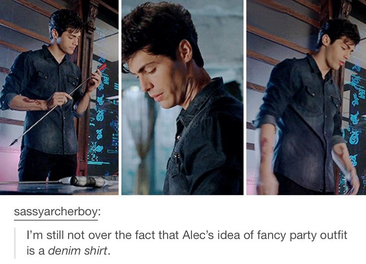 Alec Lightwood - Shadowhunters 1x04