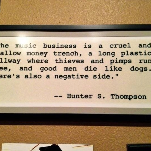 best hunter s thompson images hunters hunter  hunter s thompson quote