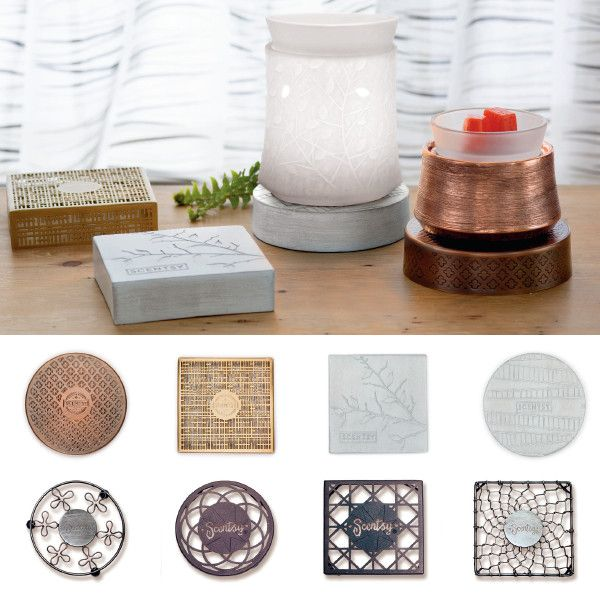 Make your warmer personal with these fabulous finishing touches. New cord concealing warmer stands