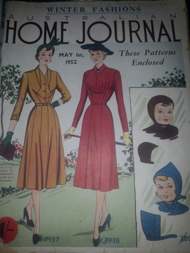 Australian home journal May 1952 cover