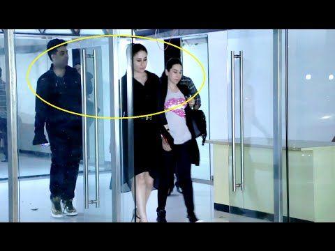 WATCH Kareena & Karishma Kapoor spotted late night with Karan Johar at Sanjay Kapoor's House. See the full video at : https://youtu.be/PM-jQos40yI #kareenakapoor #karishmakapoor #karanjohar
