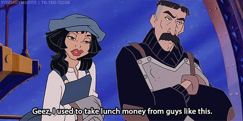 When the class geek shows up to the reunion swole. | 24 Disney Comebacks For Every Occasion