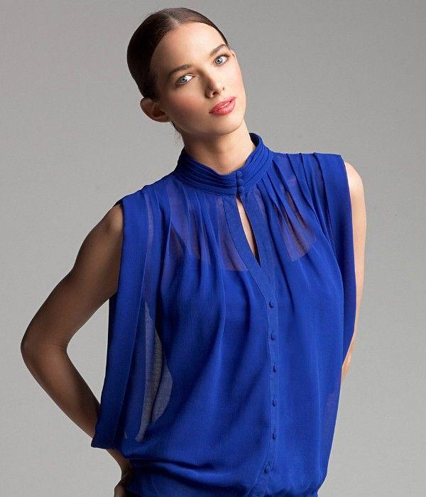 blusas de gasa 2013