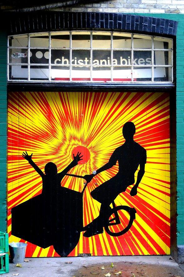 Street art - Christiana, Copenhagen, Danemark http://www.visitcopenhagen.com