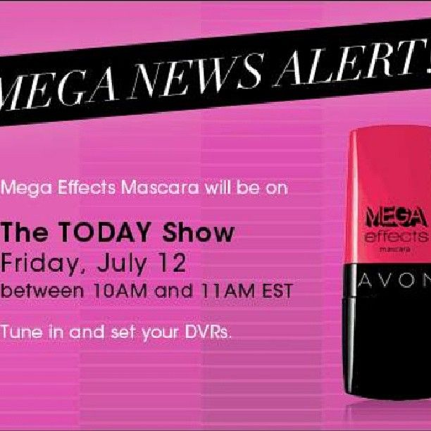 Have you heard the news? The innovative #mascara from #Avon is making its national tv debut on the #todayshow!!!! Say goodbye to the wand and hello to #wonderbrush !!! #Avon #megaeffects #Makeupmaven #mascaraaddiction #mascaraaddict #makeupjunkie #beauty #Avonrep