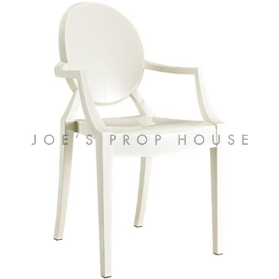 Chaise Ghost Blanche
