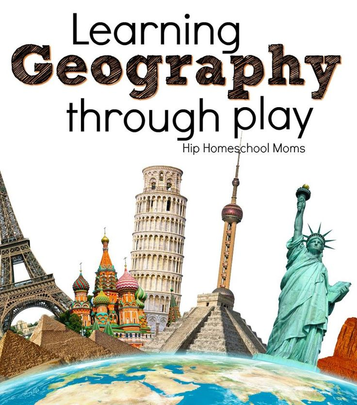 Learning Geography Through Play | Hip Homeschool Moms