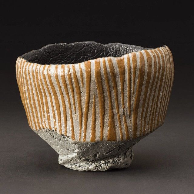 ..focus..damn it! | cavinmorrisgallery: #chawan #japan #ceramic...