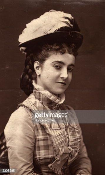 News Photo : Anglo-Italian soprano Adelina Patti , one of the...