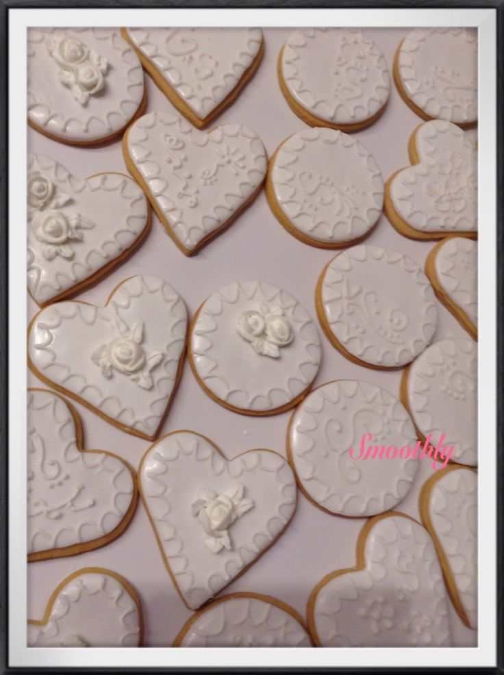 Wedding cookies by smoothly