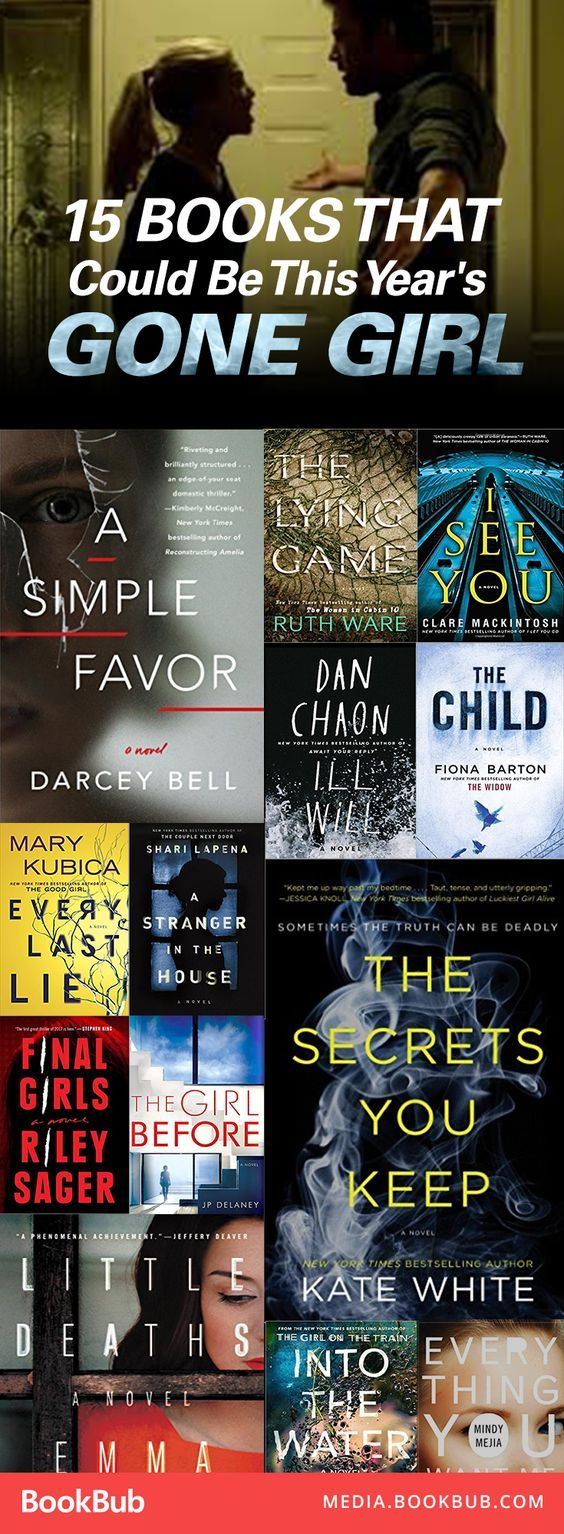 15 Books That Could Be This Year's 'Gone Girl'Erica Ryan