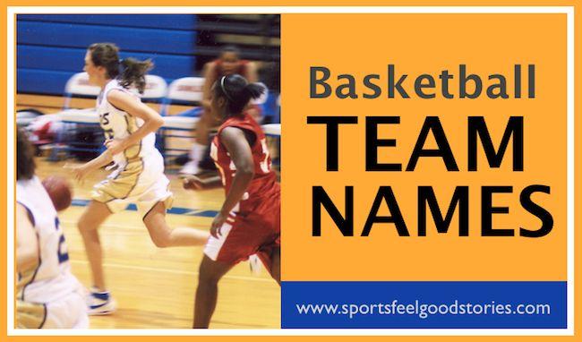 Funny Basketball Names