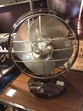 Emerson Silver Swan Vintage Fan Works 225 Antique
