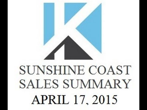 VIDEO: Sunshine Coast Real Estates Sales Summary by KT on the Coast Gibsons https://www.youtube.com/watch?v=QYv6QmBxRtk
