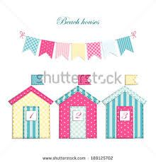 Image result for beach hut applique pattern free