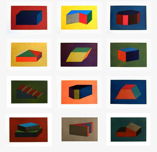 Sol LeWitt: Forms Derived From a Rectangular Solid, 1990