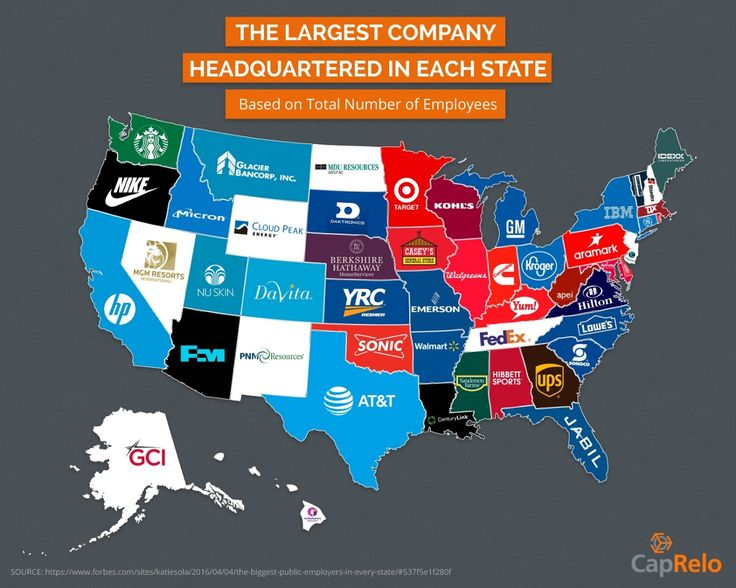 Best Geography Nerd Images On Pinterest United States - Us map by state and companies