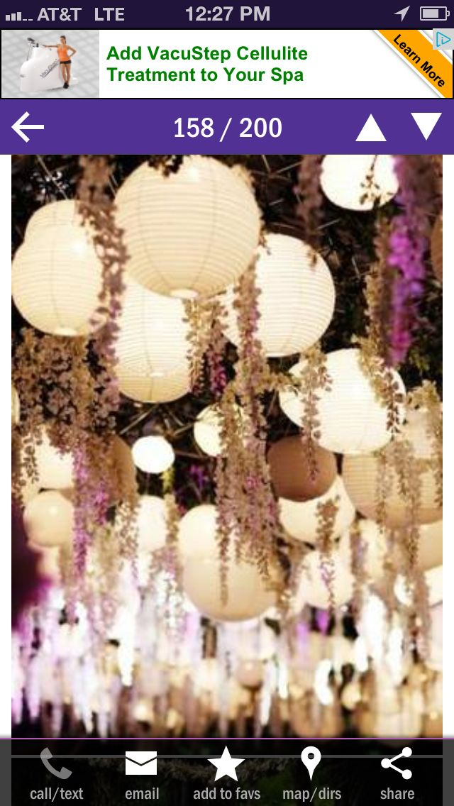 Rustic wedding decor. We could hang lavender and then the room would smell good too