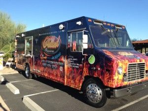 The Grilled Addiction Food Truck in Phoenix, Arizona. Learn how to start your own food truck at the blog post link.