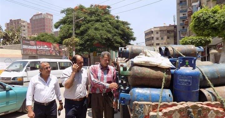 ضبط 95 اسطوانة غاز بمدينة ميت غمر لبيعها بسعر علي من السعر الرسمي Street Scenes Street View