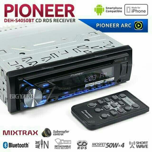 Saya menjual New Release.....Singledin Pioneer DEH-S4050BT seharga Rp1.550.000. Dapatkan produk ini hanya di Shopee! https://shopee.co.id/panorama76/586215309/ #ShopeeID